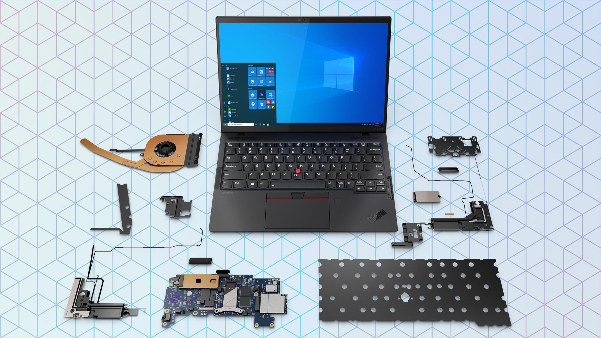 Lenovo ThinkPad X1 Nano all parts