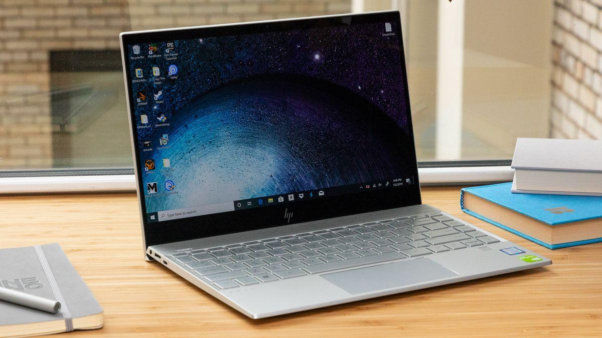 Laptop voor middelbare scholier - HP Envy 13