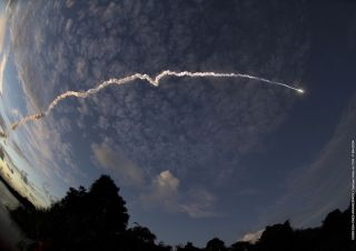 Ariane 5 Rocket Launches Four New Spacecraft Into Orbit