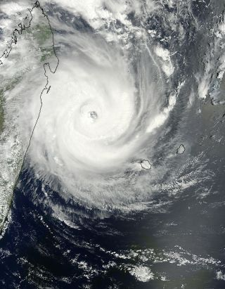 Tropical Cyclone Giovanna on Feb. 13, 2012.