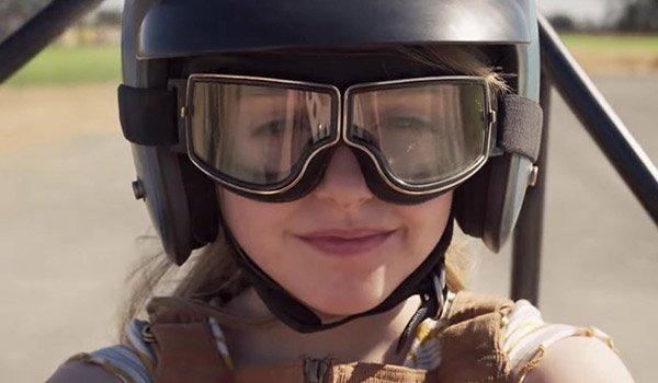 McKenna Grace as Carol Danvers in Captain Marvel