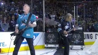 James Hetfield and Kirk Hammett of Metallica