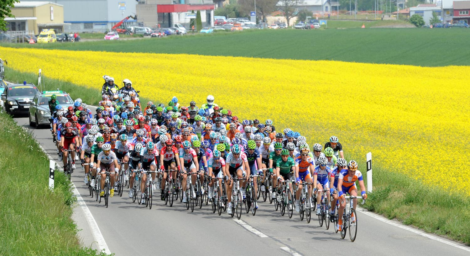Scenery, Tour de Romandie 2011, stage three