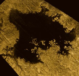 Titan's Ligeia Mare
