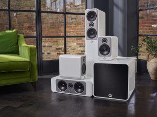 Q acoustics Concept speaker range