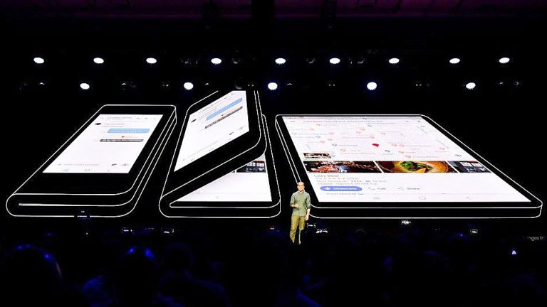 Android is updating to support foldable phones like Galaxy X and