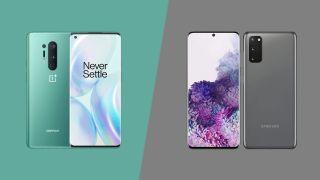 OnePlus 8 Pro vs Samsung Galaxy S20