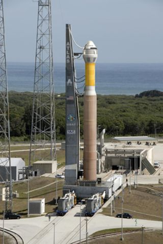 Boeing's CST-100 Atop Atlas 5 Rocket