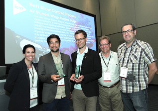 AV Stumpfl Awarded at InfoComm