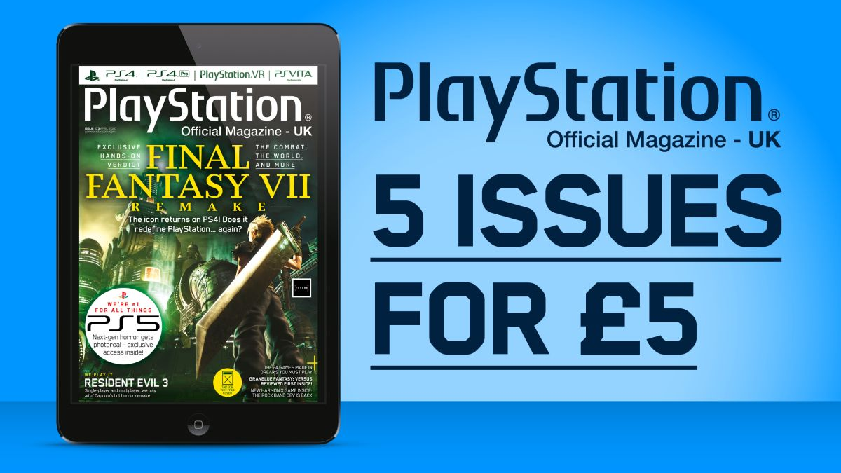 Get Five Issues Of Official Playstation Magazine For 5 With A Digital Subscription Gamesradar