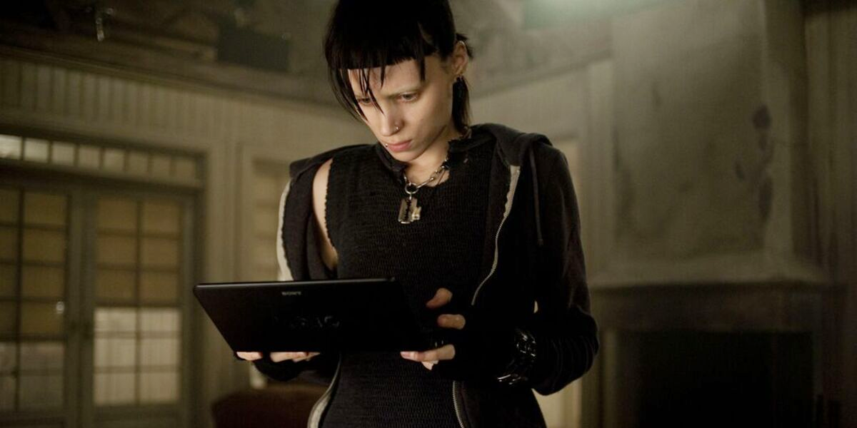 The Girl with the Dragon Tattoo Rooney Mara Lisbeth Salander