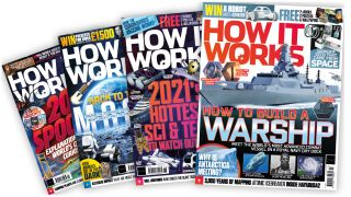 How It Works magazine covers
