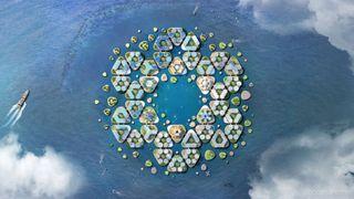 design concepts: floating city
