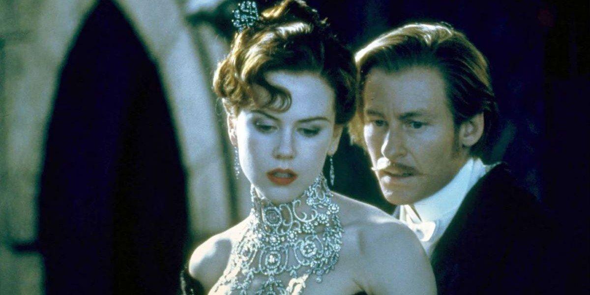 Nicole Kidman and Richard Roxburgh in Moulin Rouge