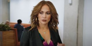 Jennifer Lopez pictured in her last romantic flick from 2018 Second Act