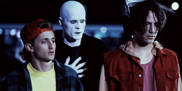 Alex Winter William Sadler Keanu Reeves Bill and Ted's Bogus Journey