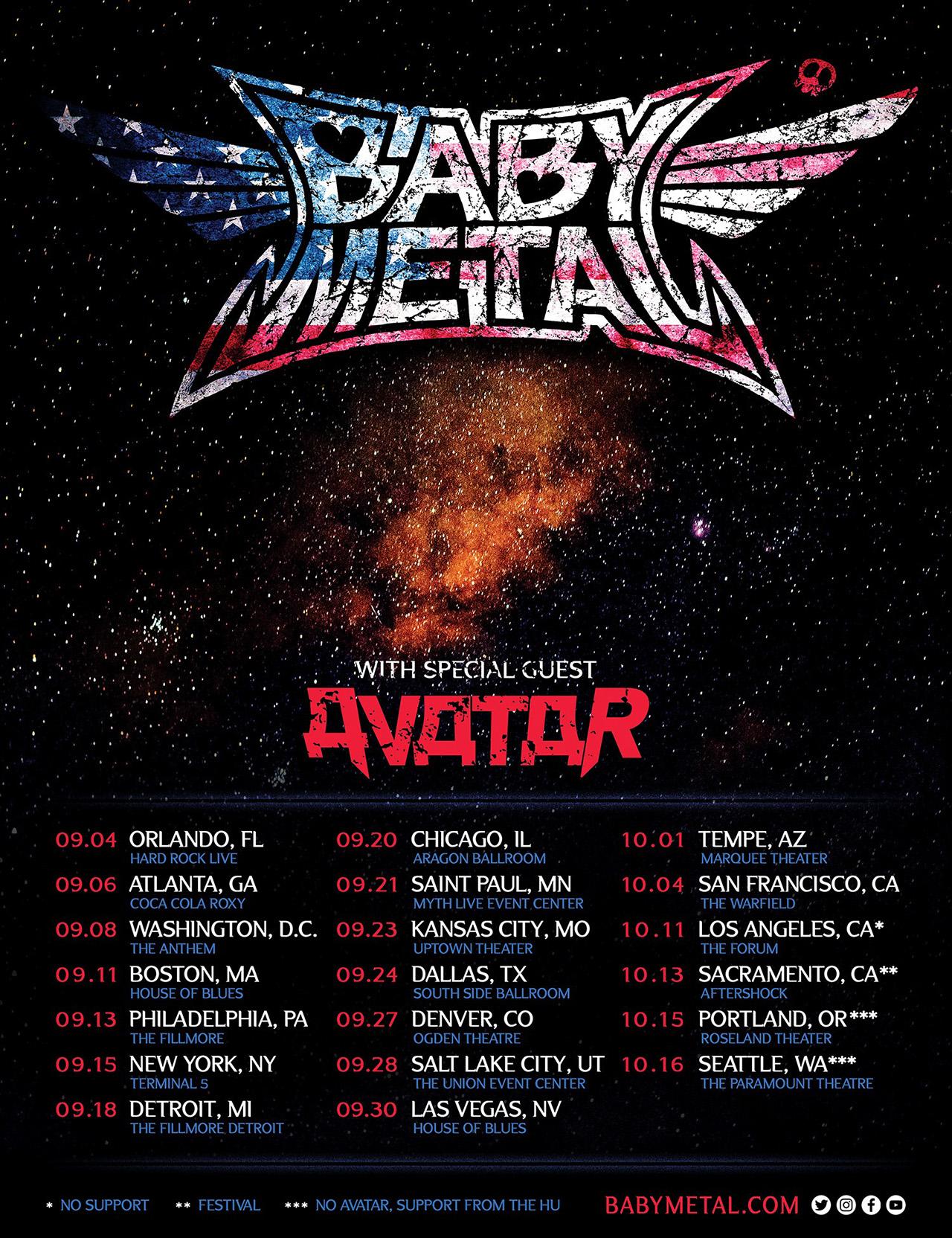 Babymetal unleash live video for Elevator Girl, reveal Metal Galaxy tracklist | Louder