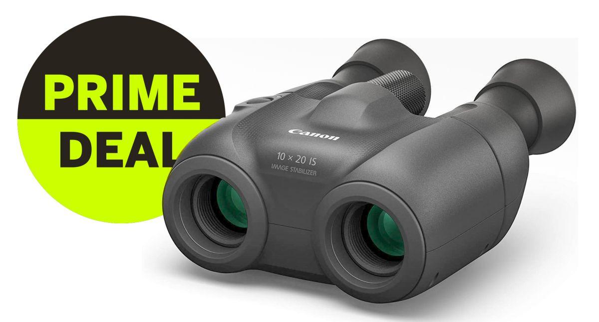 Prime Day bargain binoculars! Save £94 on Canon's shake-busting birding binos!