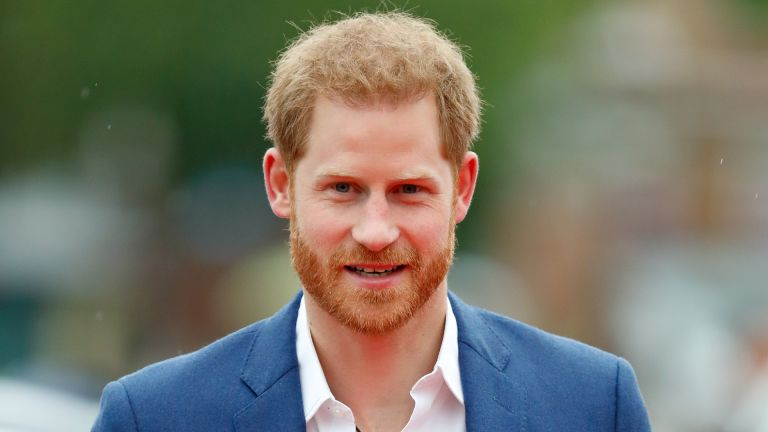 Prince Harry, Duke of Sussex attends the Sentebale Audi Concert at Hampton Court Palace on June 11, 2019 in London