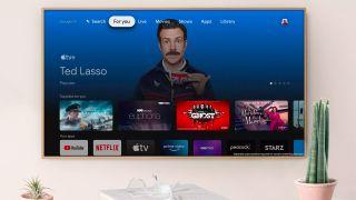 apple tv plus google