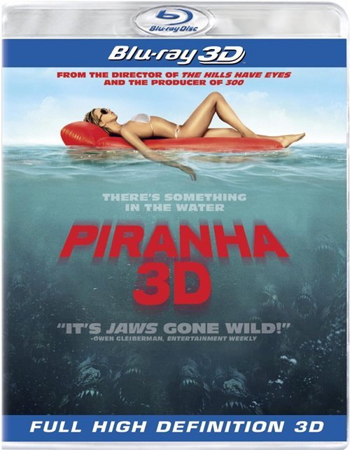 Piranha 3D Eats Its Way Into Homes This Month #15610