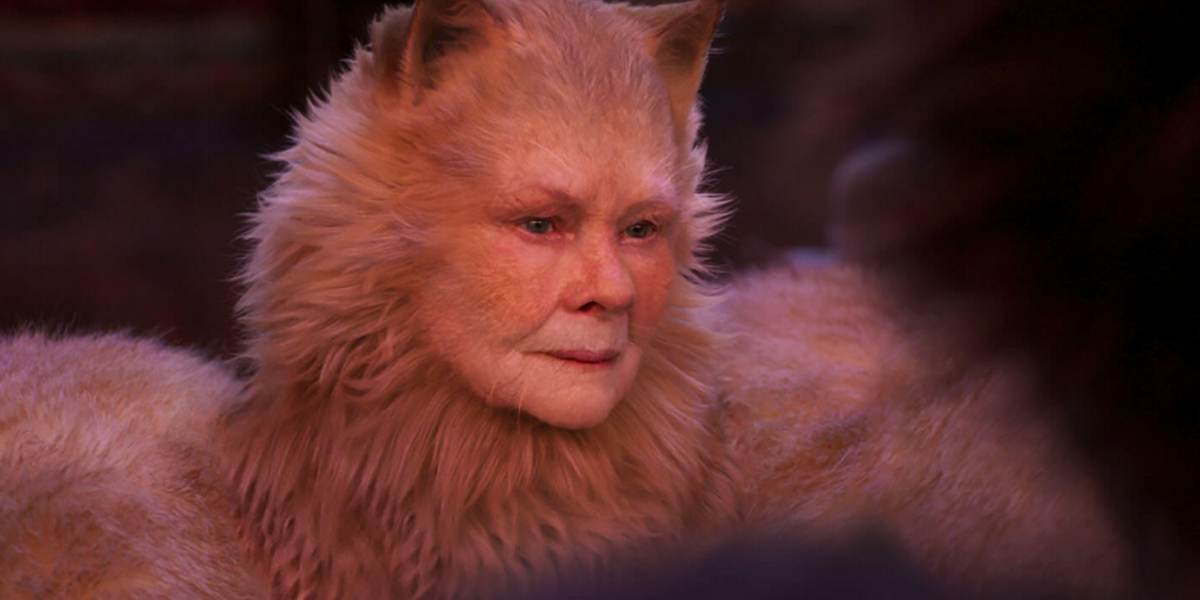 Judi Dench in Cats move 2019