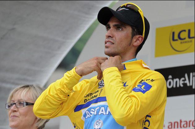 Alberto Contador, Criterium du Dauphine 2010, stage 1