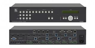 Kramer Introduces 11x4 Presentation Scaler/Matrix Switcher