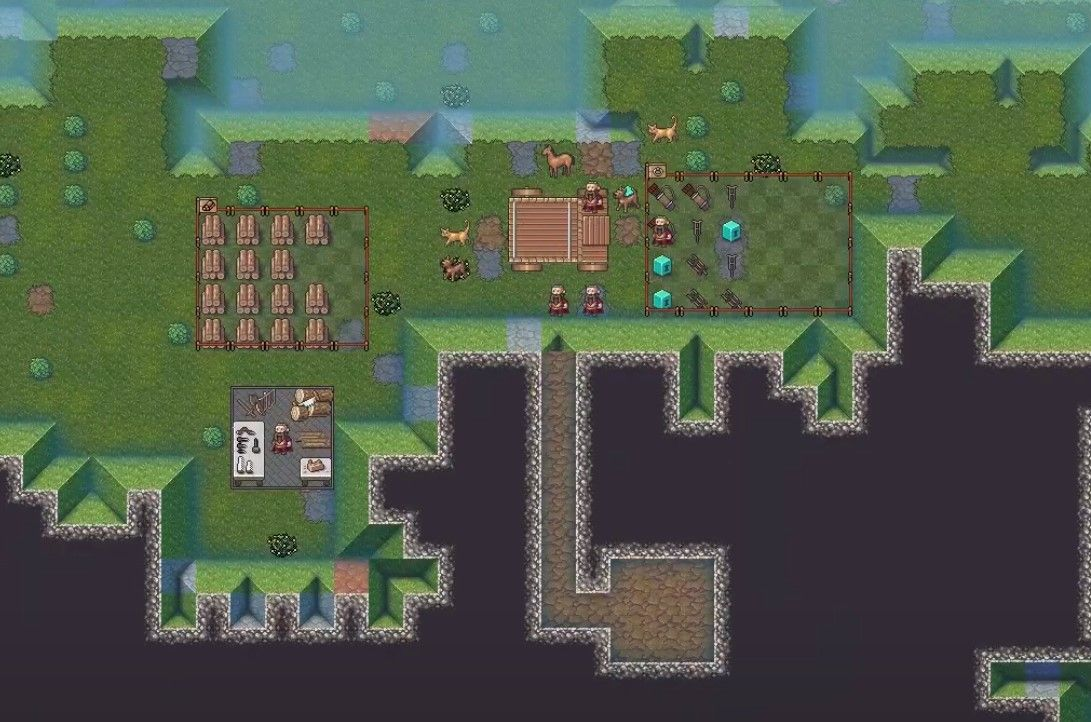 Here's our first video look at Dwarf Fortress's cute new graphics