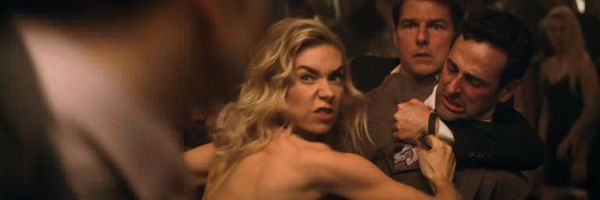 Vanessa Kirby fighting in Mission: Impossible - Fallout
