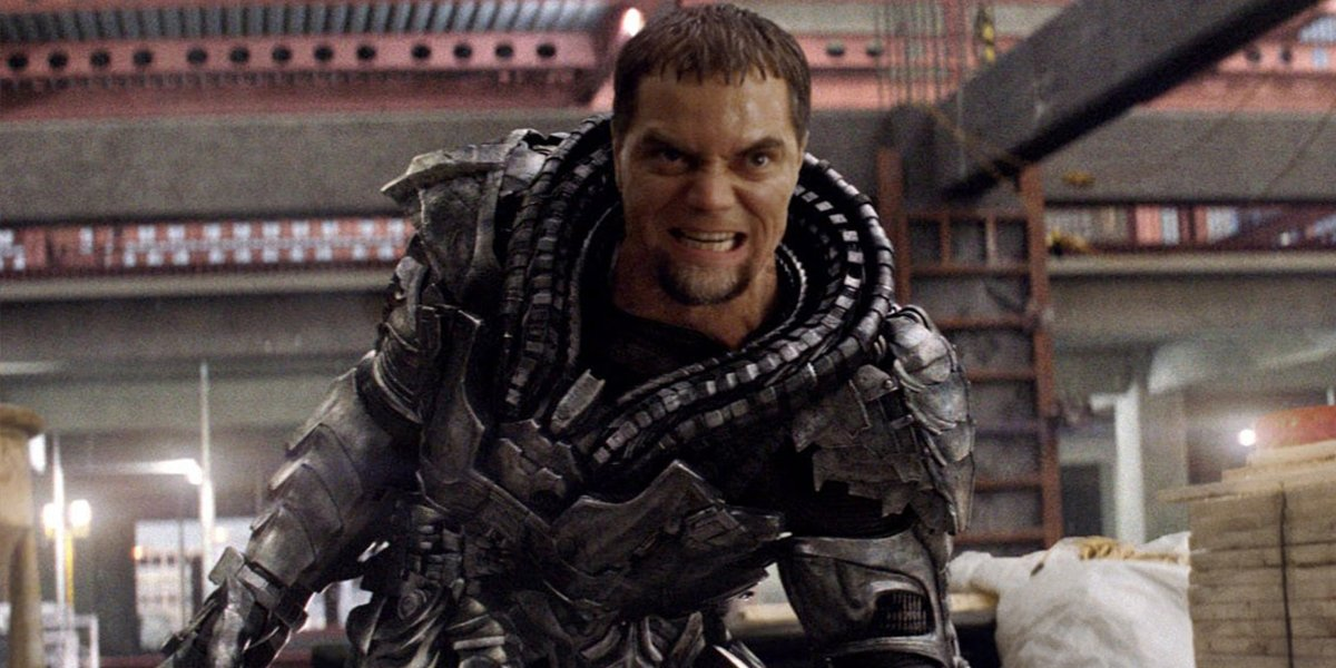 General Zod (Michael Shannon) in Man Of Steel