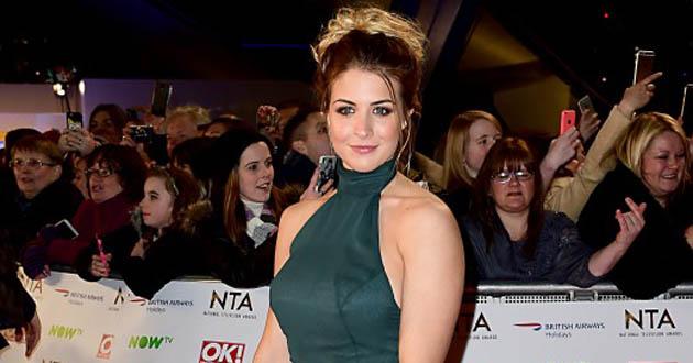 Gemma Atkinson stars in Emmerdale