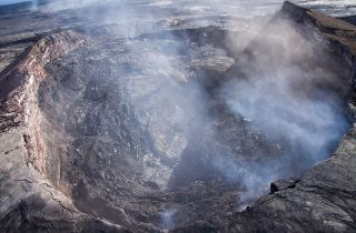kilauea crater collapse