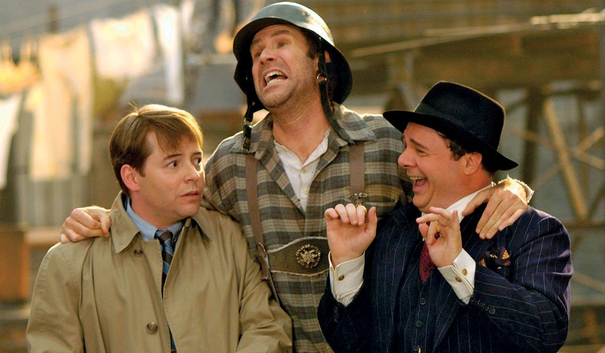 The Producers Will Ferrell sings with Matthew Broderick and Nathan Lane