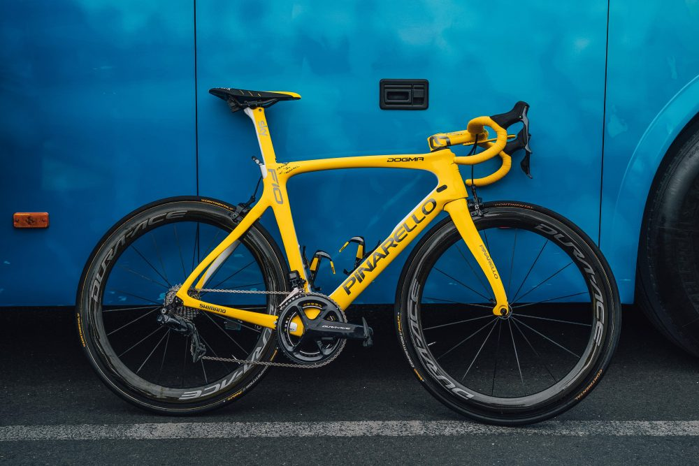 Geraint Thomas's Pinarello