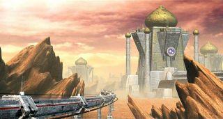 A city in Alpha Centauri