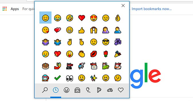 How To Open The Emoji Panel In Windows 10 Laptop Mag