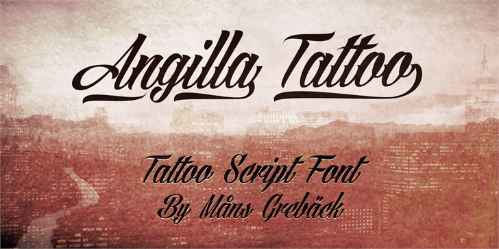 Best free fonts: Angilla