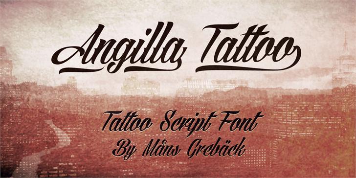 Best free fonts: Angilla