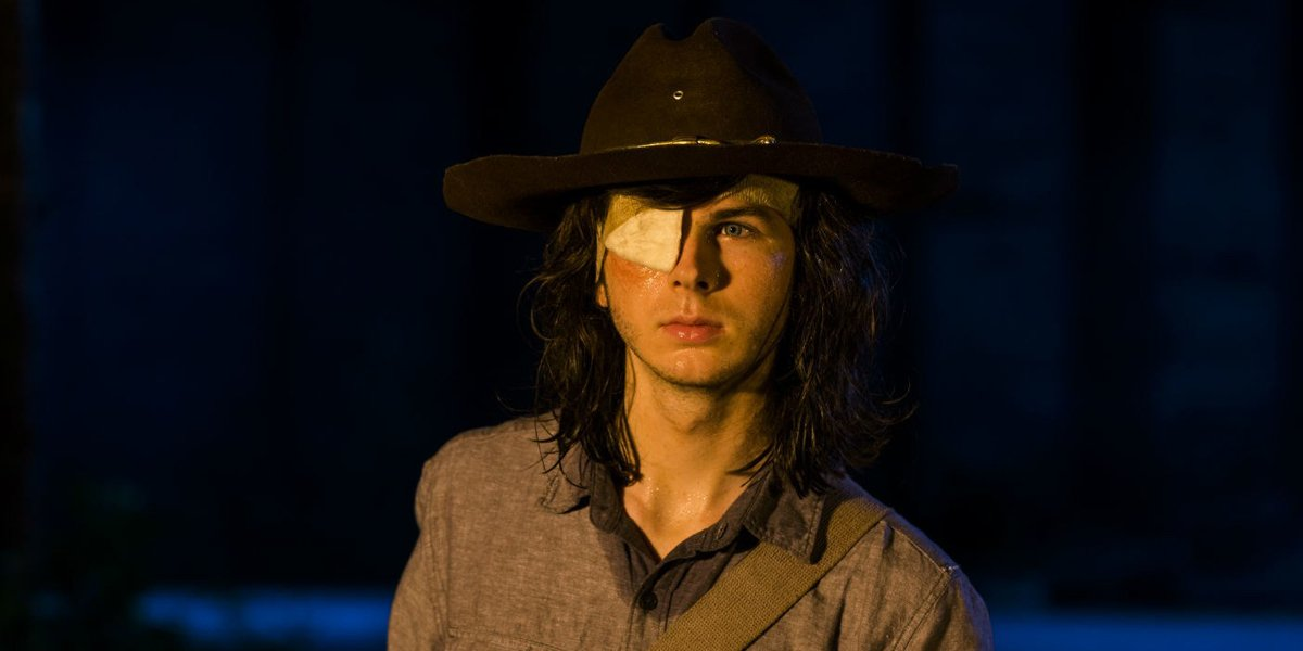 Carl Grimes In The Walking Dead BEfore His Death