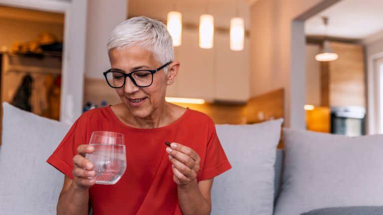 Trying one of the best vitamins for women over 50