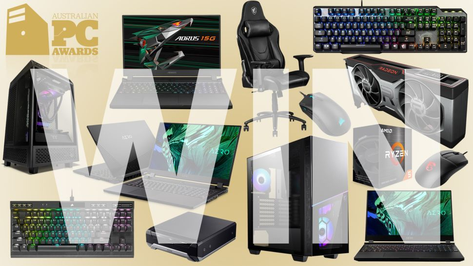 Here are the winners in the AU,254 2021 Australian PC Awards prize pool