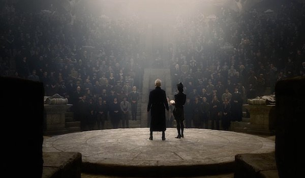 Gellert Grindelwald in Fantastic Beasts: The Crimes of Grindelwald