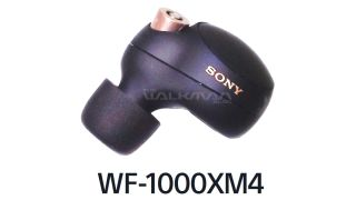 Leak shows Sony WF-1000XM4's new design from all angles