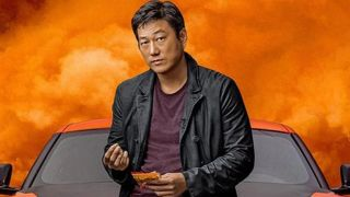 Sung Kang in F9 poster