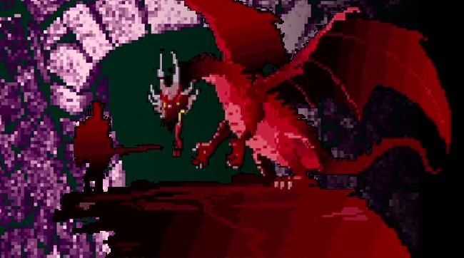 A NetHack dragon