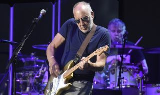 Pete Townshend performs live with The Who in San Francisco, California on August 13, 2017
