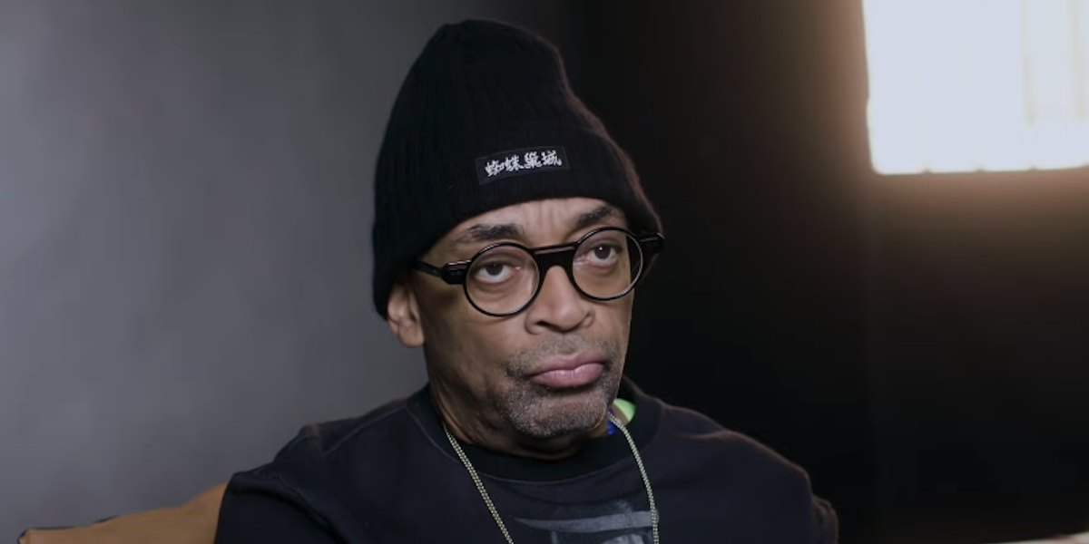 Spike Lee taking the Proust Questionnaire for Vanity Fair