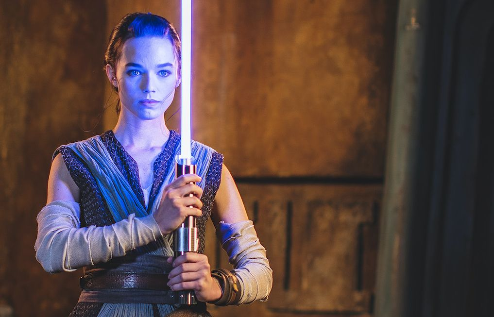 Disney's new 'working' lightsaber prop appears fairly rattling actual