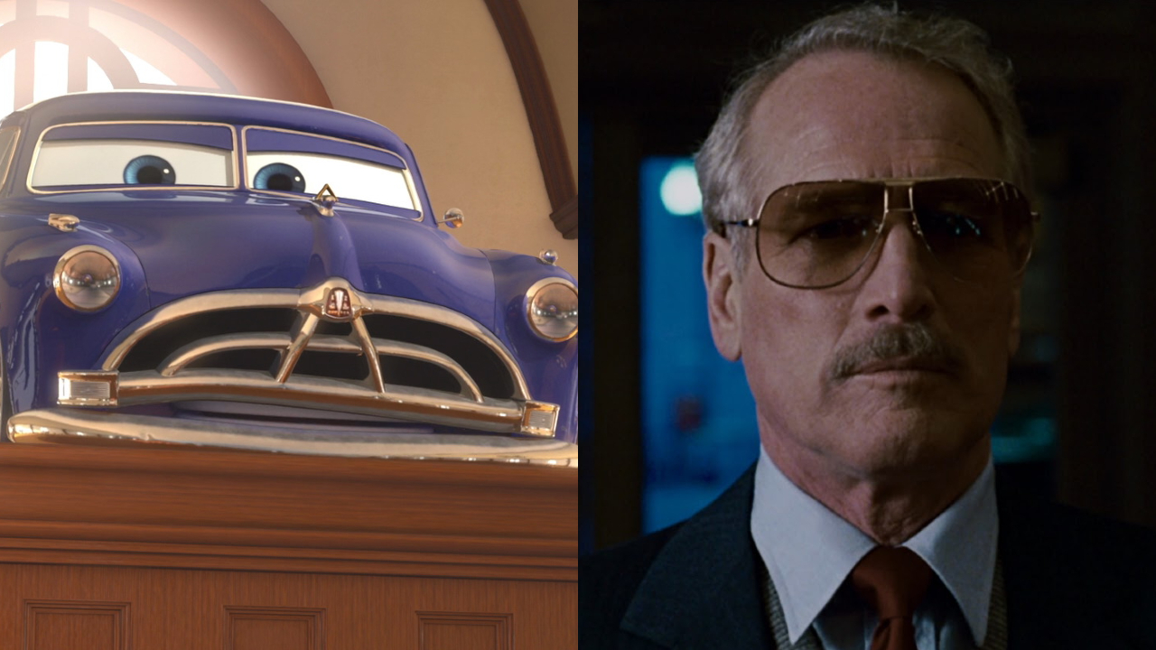 Doc in Cars; Paul Newman in The Color of Money
